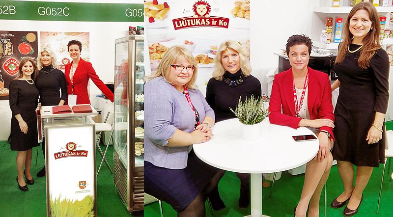 Maisto pramonės parodos ANUGA 2015 metu